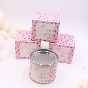 Long Lasting Scented Candles Individual Package Grapefruit Pomegranate Vanilla Soy Wax Scented Candles Gifts for Her BWD5200