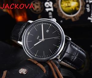 montre de luxe Mens Womens Automatic Simple Designer Watches Leather Strap Super Luminous Wristwatches women waterproof watches