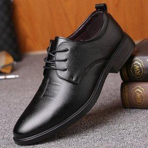İngiliz Bullock Erkek İş Ayakkabıları Dört Sezon Eğilim Rahat Deri Ayakkabı Erkekler Casual Düşük Üst Kart * A5006 G5RK #