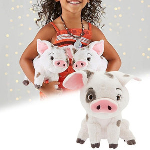 22cm Movie Moana Pet Pig Pua Stuffed Toy Animals Lovely Cute Soft Cartoon Plush Dolls Toy Kids Birthday Christmas Gifts
