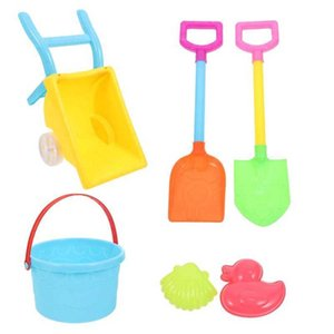 1 Set Sand Cart Funny Game Toys Kids Beach Playthings