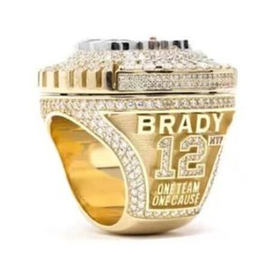 Wholesale tampa bay 2020-2021 buccaneer Championship Ring fashion Gifts from fans and friends leather Bag Parts & Accessories