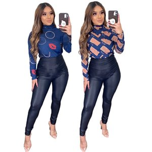 Long Sleeve T-shirts Designer Women Tops Ladies Tees Sexy Summer Clothing 2XL Plus Size Top Hot Sale Free Shipping 4518