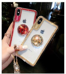 Designer Rhinestone Phone Case For iphone 12 Mini 11 Pro Max Xs Xr X Luxury Glitter Protective Shell For iphone SE 2020