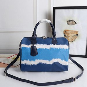 M45146 BANDOULIÈRE top quality handbags fashion shoulder bag camouflage leather crossbody bags canvas beach style totes 30cm