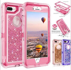 Bling crystal Liquid glitter protect Designer Phone Case robot shockproof non-waterproof back cover for new iphone 12 Note 20