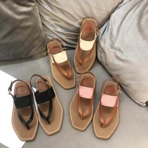 Modedesigner Frauen Strand Sandalen Stickerei Plattform Schuhe Flip Flops Müßiggänger Sommer Wohnungen Schuhe Damen Sandalen Slipper Größe 35-42