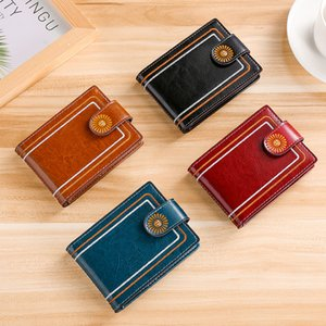 2021 Fashion Card Case Trend Wallet Motor Vehicle Driver License Leather Cases Creative Leather Protective