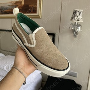 Tenis 1977 Slip-on Women Shoe Blanco Azul Pink Apple Vintage Entrenadores Vintage Lienzo Zapatos Casuales Ace Luxurys Designers Sneakers