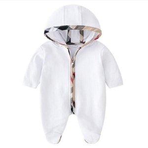 2021 Baby Rompers Весна Осень Осень Мальчик Одежда Новый ползунки Хлопок Новорожденные Детские Девушки Детские Дизайнер Прекрасные Детские Комбинезоны Одежда Одежда