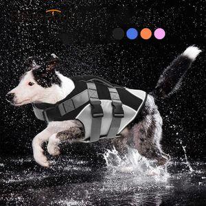 2021 Benepaw Bequeme Lebensjacke Reflektierende Streifen Rettung Griff Haltbare Schwimmweste Hund Sommer Kleidung Welpen Float Mantel