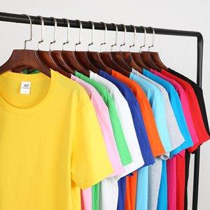 Luxury T-shirts Advertising T-shirt Men's Round Neck Short Sleeve Print Activity T-shirt