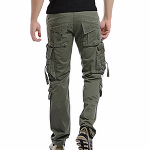 New 2021 Fashion Military Mens Trousers Overalls Casual Baggy Army Cargo Men Plus Size Multi-pocket Tactical Pants Uyq4