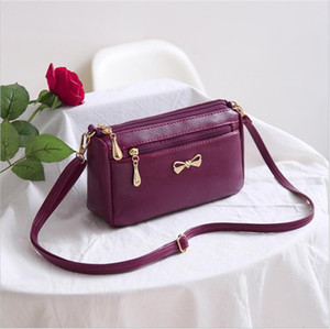 HBP MI-WI M New bag women's bag in 2020 Pu shoulder bag women's Retro versatile fashion atmosphere 2501
