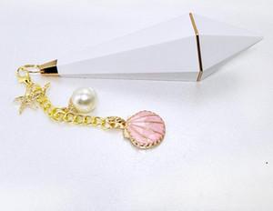 Новое поступление алмазная кисточка помада трубки Unicorn Shell пустая помада Party Hoods поставки подарки FBA корабль HWD5056
