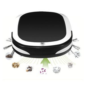 6 في 1 قابلة للشحن روبوت مكنسة كهربائية الذكية التلقائي مكنسة كهربائية الكلمة كاسحة الغبار الأوساخ تنظيف المنزلية ممسحة