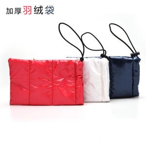 Korean version net red waterproof down cloth flat glasses colorful anti pressure sunglasses bag multi function and convenient