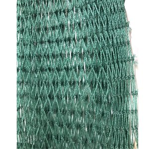 Mesh 15mm Semi Finished Product Fishing Net 18 Strands Multifilament Polyethylene Net Pesca Breeding Crop Supplies Shed Tool