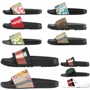 Горячие высококачественные слайды сандалии мужские женские тапочки для редукторов шкафные шлепки с коробкой повседневная обувь кроссовки espadrilles каблук дома 011 01 v7wn #