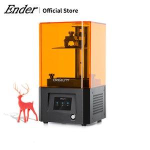 3D Printer LD-002R UV Resin 3d Printer Touchscreen 2K Resolution Ball Linear Rails Air Filtration Off-line Print 4.69*2.56*6.3in