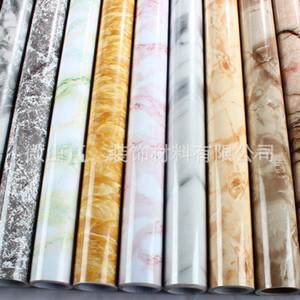 Hot Marble Film Self Adhesive Wallpaper for Bathroom Kitchen Cupboard Countertops Paper PVC Waterproof Wall Stickers 726 K2