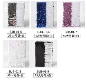 Sublimation Blank Magic Magic Seakerlined Notebook per materiali di consumo Trasferimento di calore Stampa di Dy Gifts 4pcs