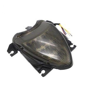 Мотоцикл Интегрированный светодиодный тормозной фонарь хвостовой свет + поворот сигналы света задний фонарь дыма для Suzuki Boulevard M109R 2006-2009 08