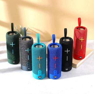 TG619 Bluetooth Speaker Mini BT Speakers Hifi Stereo Protable Wireless Soundbox Subwoofers Loudspeaker Outdoor Christmas Party Tower Universal