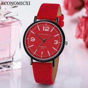 Orologi da polso orologio da donna in pelle orologi da donna moda donna braccialetto di lusso al quarzo per Relojes