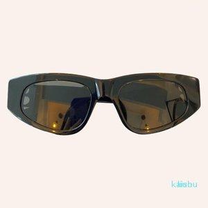 Sunglasses Cat Eye Fashion Women Designer Mirror Rectangle Sun Glasses Eyewear Shade UV4001