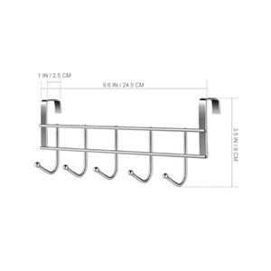 Accesorios Hook Rack Parts Professional Reemplazo de acero inoxidable 5Hooks