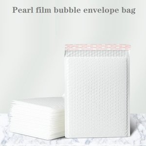 Pouch film bubble envelope bag white composite document garment express packaging bag waterproof thickening packaging foam bag 12*18+4cm