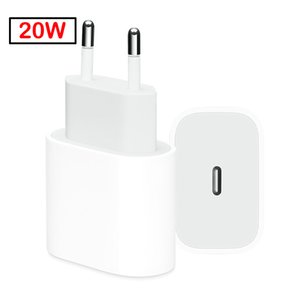 Original Oem quality Real 20W Fast Charging PD Charger for Phone 12pro max Max Pad Pro EU US Travel Power Adapte