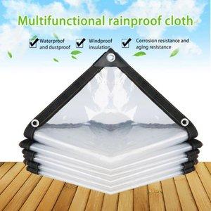 Shade Plastic Film Transparent Rainproof Cloth Tarpaulin Garden Balcony Greenhouse Succulent Plant Keep Warm Waterproof Thicken