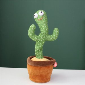 Las celebridades de Internet explosivas bailarán y Twist Cactus Creative Toys Music Songs regalos de cumpleaños Adorno creativo para atraer clientes
