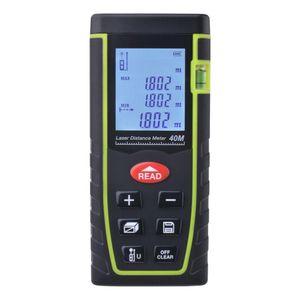 2021 7-Key 40M 80M Digital LCD Laser Distance Meter Range Finder Measure Diastimeter