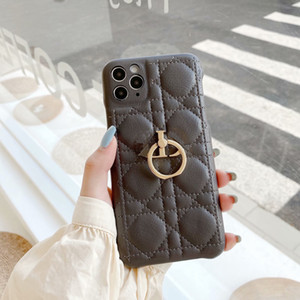 Fashion Designer Phone Case for Iphone 12 12Pro 12Promax 12mini Iphone 11Promax 11Pro XSMAX XR 7 8  7P 8P Iphone Case with Ring Holder 2021