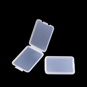 Home organization Shatter Box Protection Case Card Container Memory Cards Boxs CF Tool Plastic Transparent Storage Easy To Carry RH004512