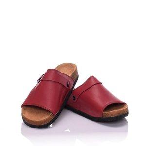 Moosefield Genuine Leather Summer season new model Open toe Women's Slippers MD-10MMF-01 Women's slippers