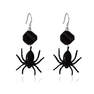 Dark spider earrings exaggerated cross-border hot girls on the streets Cool spider creative design Earrings