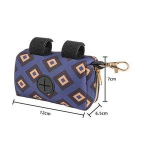 Neoprenhund Kacke Taschenhalter Multicolor Haustier Abfallbeutel Dispenser Premium Qualität Pick-up Tasche Reißverschluss Beutel My-Inf0668 757 K2