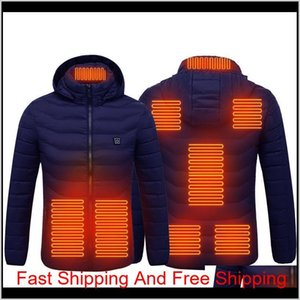Paratago New Men Women Heating Jackets Winter Warm Usb Heated Clothing Thermal Cotton Hiking Hunting Fis qylEkf my_home2010