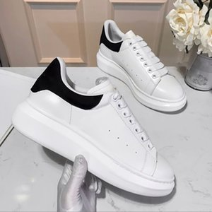 Top Quality Mens Womens Blue Vielet Back Platform Sneaker Sneaker Bianco Genuine Leather Trainer Comfort Pretty Lace Up Espadrilles Scarpe da corsa