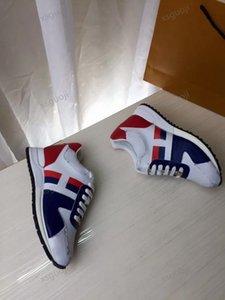 Louis Vuitton LV shoes New Fashion Trend Shoes Round Tronco Testa Tronco Sneakers In Pelle Interni ed Esterni Sneakers Uomini e donne Scarpe basse Dimensioni 38-46 Follower