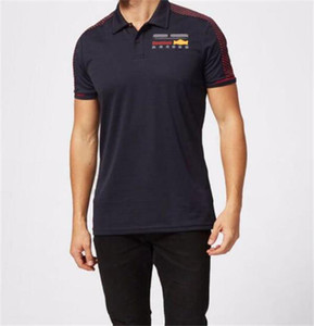F1 Racing Suit Suit a manica corta Polo Summer Motorcycle Racing Bavero T-Shirt Poliestere Asciugatura rapida Poliestere Può essere personalizzato