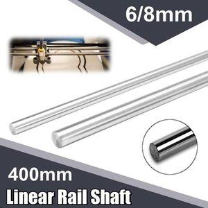 Bearings 400mm Length 6 8 10 12mm Diameter Linear Rail Shaft 3D Printer Parts Smooth Rod Steel Cylinder Hardware Tool