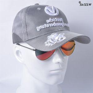WZZae New Baseball Man and Woman Snapback Cappelli Squadra Commemorativa Signature Moto GP Racing Caps Sier Grey