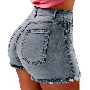 Women's Jeans 30h Denim Women Summer Short For Female Pockets Wash Oversized Pants Drop