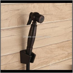 Oil Rubbed Bronze Toilet Handheld Brass Bidet Sprayer With Hose And Bracket Holder Toilet Attachment Cloth Diaper Sprayer Kjgce Pxnvg