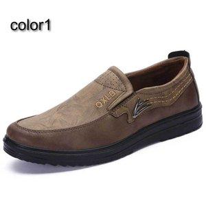 Size38-48 Large size loafer men slip-on boat shoes beijing footwear brj10